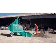Bio400 bétonnières - capacité du malaxage 400 l