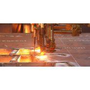 Machines d'oxycoupage - Metal - Pour acier : épaisseur 50 mm