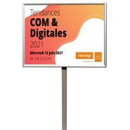 Panneau statique de 4m² À 12m² sur pied ou mural