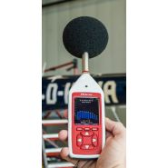 Cir/cr:162d - sonomètre intégrateur - scantec - 1:1 bandes d'octave / nr-nc