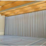710010 - Rideau de séparation gymnase - Decasport - En tissu polyester M1