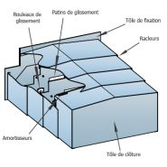 Protecteurs télescopiques - metal gennari - protection extérieure en acier