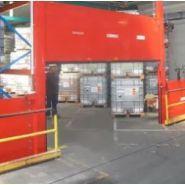 T abvf - barrière de rétention d'eaux d'incendie - cgk - barrière semi automatique