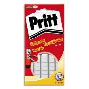 Pritt pochette de 55 pastilles adhésives blanche multifix 376631