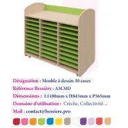 MEUBLE À DESSIN 30 CASES