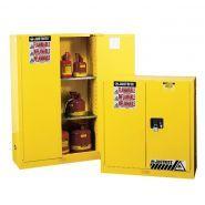 JU450 - Armoire de sécurité pour produits inflammables - Delahaye industries - Capacité : 170 L - Résistance au feu 15min