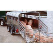 Ta5 - remorque bétaillère - ifor williams trailers ltd - poids brut maximum 2 700 kg