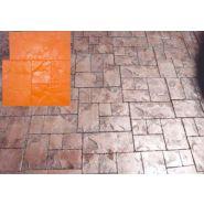Pavé de toulouse dim 60 x 60 cm moule à beton - harmony beton