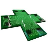 XXL 1800 S.F - Enseigne pharmacie - SARL IDENTY SIGN - Dimensions : 1800 x 1800 mm