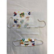 KITMASQUE ENFANTS UNS AFNOR C1 - Masque en tissu - Dbvetpro - 3 plis d'aisance pour le confort