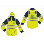 Parka - veste de securite de travail impermeable