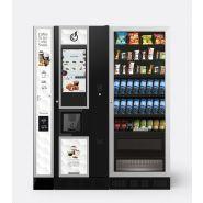 """LEI600 TOUCH 21"""" + MODULO COFFEE TO GO + ARIA L EVO SLAVE - Distributeurs combinés chaud/froid - Bianchi vending group - Capacité de 600 gobelets"""