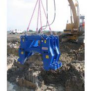 Eminceur a beton pour pelle 30 À 70 tonnes