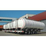 Remorque citerne - vanhool - transport du lait intra