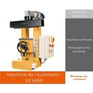 S3 MBR - Marquage par roulement - Agicom - Machine renforcée
