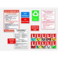 Panneau consignes de sécurité - Agic - M1