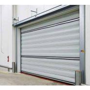 Porte rapide 2012 / souple / à enroulement / en plastique / utilisation intérieure / 2500 x 2500 mm