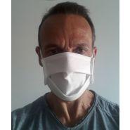 Masque de protection non tissé 3 couches lavables 60°/en 8 jours chez vous