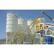 Silos à ciment boulonnés - Meka - Capacités de 50 à 500 tonnes