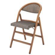 Clack - 331 - chaise pliante - antiga - en aluminium