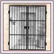 Grille de protection d'entrée - Serrurerie Bordelaise - grille de sécurité ouvrante