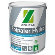 Zolpafer hydro - peinture antirouille - zolpan - aspect brillant