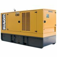 130 TVO SILENTSTAR  Groupes électrogènes Industriel - Worms Entreprises -  (Diesel) 108 kW – 135 kVA