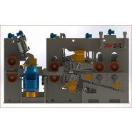 Raboteuses industrielles - Fabricationry - Dégagement rapide