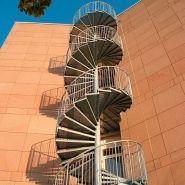 Escalier hélicoïdal - antoine durandet - rayon 800 à 1200 mm