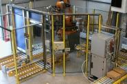 étude et réalisation de lignes robotisées sur mesure