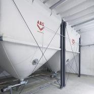 Flexilo maxi - Silos pour granulés de bois - Abs - Stockage de granulés jusqu'à 50 m³