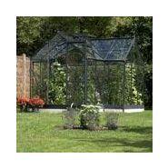 Serre orangerie 8.6 m² anthracite et verre horticole - juliana serre ...