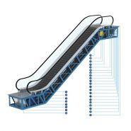 Fm I-302 (800) Escalator intérieur Escalier mécanique - FUJI - 0,5 m / s, 0,65 m / s et 0,75 m / s