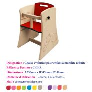 CHAISE HANDICAPÉ ÉVOLUTIVE