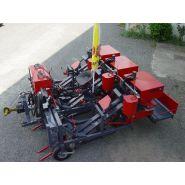 RL3 Récolteuse lieuse trois rangs -  Erme - Vitesse nominale 4 à 6 km/h - Capacité de récolte 3 ha/8h