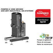 Pompe à vide sèche  sihi dry industrial gd-systems distributeur france normandie