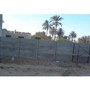 Clôtures en béton pleines - modubat