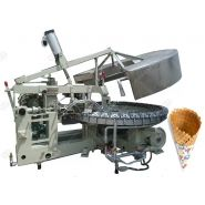 Machine inoxydable de fabrication de cône - Henan Gelgoog - Capacité 2500pcs/h