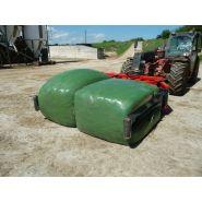 SERQUAD 240 - Pince à balle et enrubannage - Bugnot - Charge maxi 1000 kg - Poids 526 kg