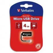 VERBATIM CLE USB MICRO USB DRIVE 4GB 44048 + REDEVANCE