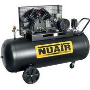 Compresseur d'air tête en fonte 270 litres moteur triphasé de 5,5 cv nuair