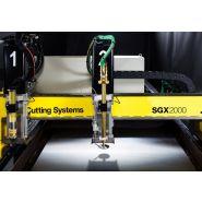 Sgx - coupe industrielle - esab france sas - largeurs de coupe utiles de 1,5m