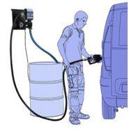 WALL TECH Distributeur de carburant - AP - tuyau en caoutchouc 4 m