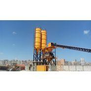 Powermix-60 centrale à béton - fabo - fixe - 60 m3/h