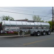 Remorques citerne liquide - Bedard Tankers Inc - 7200 l
