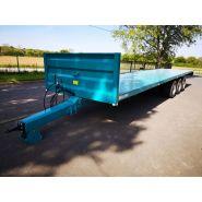 Remorque plateau agricole LSP 12006 - Golpais - Longueur de caisse 12000 mm - PTAC 32000 kg