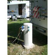 ETHY - Borne de distribution d'énergie fixe - Socomest - Dimensions  H : 900 mm – D : 360 mm hors-sol