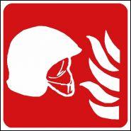 Panneau de signalisation - ensemble d'équipement de lutte contre l'incendie