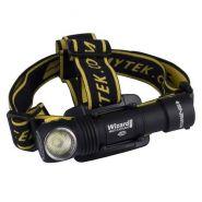 Lampe frontale aimanté armytek, rechargeable usb, batterie 18650 1250 lumens