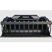 Gh 800 à 990 tpf godets multiservices - riman - poids 670 à 1450 kg
